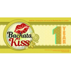 12 Months Full Pass for Bachata Lessons & Party in London