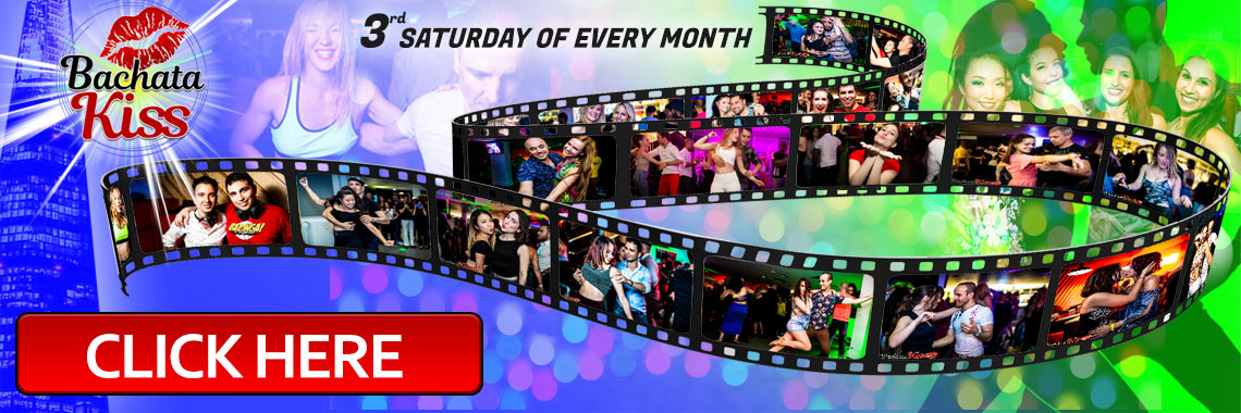Bachata Kiss - The 3rd Saturday of every month